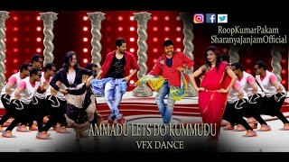 KhaidiNo150-Ammadu LetsDo Kummudu Dance with Vfx by RoopKumarPakam & SharanyaJanjam