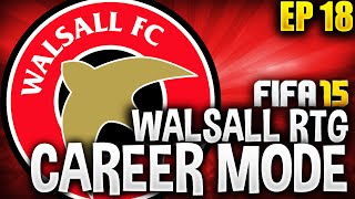 THE ITALIAN STALION! Walsall RTG Career Mode - EP18