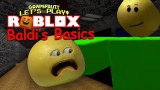 LES BASICS de BALDI ! Roblox [Grapefruit Plays]