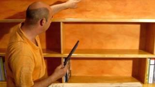 comment construire étagère en bois