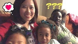 Korean Wife confessing to Black husband she likes a Korean guy | Family Vlog ep.183
