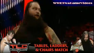 WWE TLC 2014 - TABLES, LADDERS & CHAIRS - Dean Ambrose vs Bray Wyatt - TLC Match (Simulation 2K14)