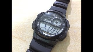 CASIO AE-1000W-1A Watch | Unboxing and review |Lazada Philipines