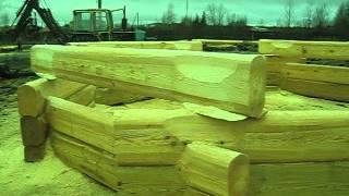Лафет(Срубы из Псковской области:Чаша, Канадка, Норвежская рубка, Лафет. http://domlafet.ru http://vk.com/domlafet Russia log cabin, Russia log house., 2012-11-11T14:25:56.000Z)