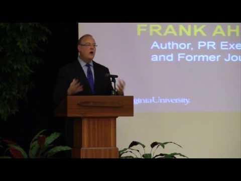 Frank Ahrens - WVU College of Business & Economics Speaker Series