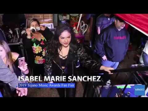 Isabel Marie Sanchez 2019 Tejano Music Award Fan Fair