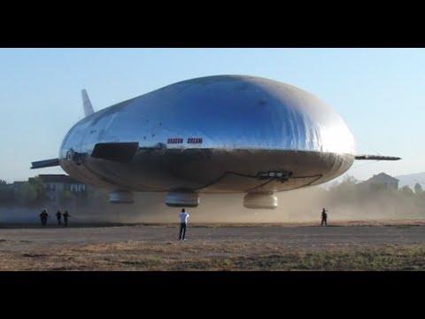 AEROSCRAFT World's Most Advanced AIRSHIP First Flight Commer