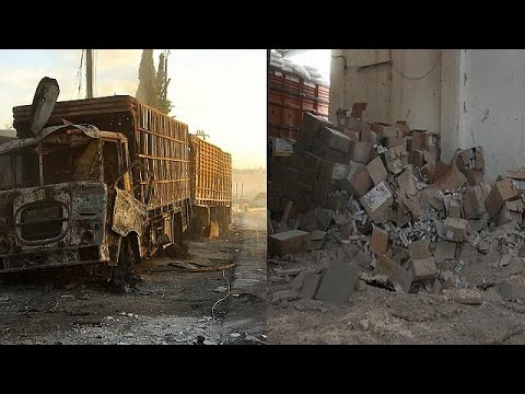 US accuse Russia of air strike on Syria aid convoy