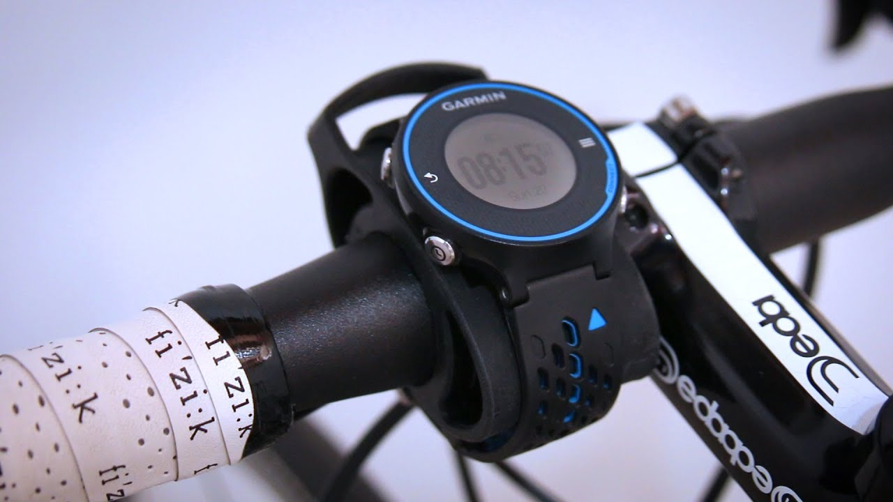 Garmin Bike Mount Kit Setup Review Youtube