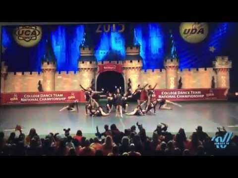 University of Tennessee Dance Team - 2015 UDA Division IA Jazz National Champions