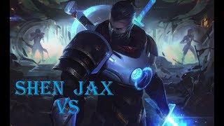 Runa Golpe de Escudo Pretemporada - OTP Shen vs Jax Top