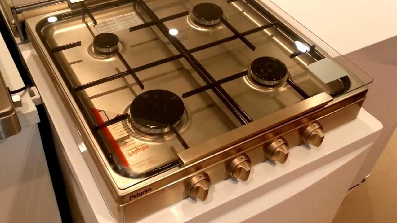 Verwonderend PK454RVS - Video PELGRIM kookplaat vrijstaand roestvrijstaal | De JU-55