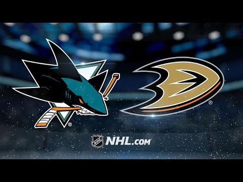 San Jose Sharks vs Anaheim Ducks – Oct.28, 2018 | Game Highlights | NHL 18/19 | Обзор матча