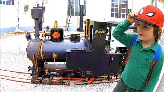 Toy Train Ride at Children's Rail Museum | Thomas and Friends Model Trains | Learn Transport