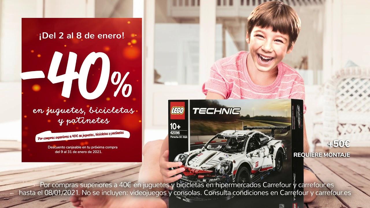 Muchas situaciones peligrosas oferta Dormitorio  Carrefour - 40% en Juguetes - YouTube