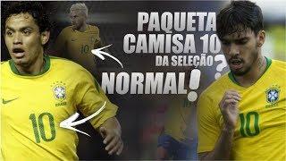 """10 jogadores """"COMUNS"""" que já vestiram a CAMISA 10 da SELEÇÃO BRASILEIRA"""