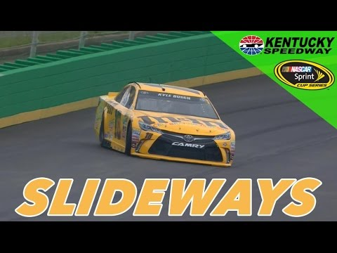 Kyle Busch Makes Big Save in NSCS Practice