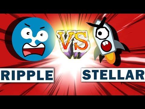 RIPPLE VS STELLAR: Должен Остаться Только Один! Stellar заменит Ripple?