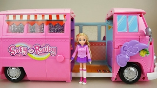 Baby doll and Ruby camping car toy picnic play thumbnail