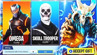 Fortnite Gifting Skins To People Every 50 Subs!