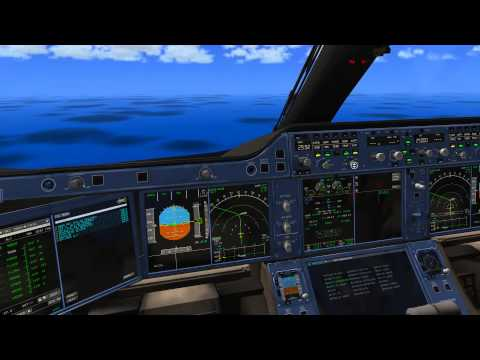 X-Plane10 A350XWB,Cold&Dark, Check list Complete,FMC Setup Using Charts,Visual Approach
