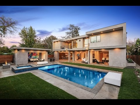 Brilliant Modern Art House for sale by Gina Covello-4327 Beck Ave Studio City, CA