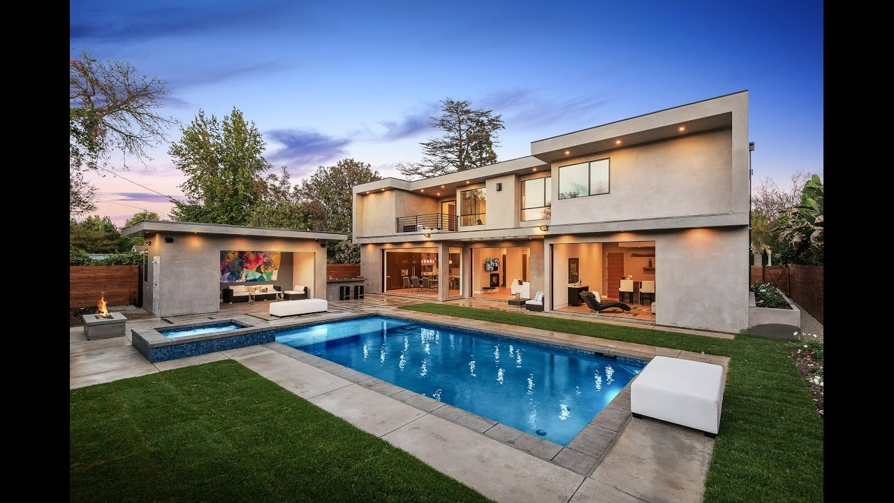 Brilliant modern art house for sale by gina covello 4327 for Homes for sale in studio city