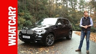 BMW X5 2013 video review - What Car?(Subscribe: http://bit.ly/1fBCZIl The BMW X5 is good to drive on the road and pretty decent off it. However, while it performs well in many areas - running costs and ..., 2013-11-27T17:38:42.000Z)