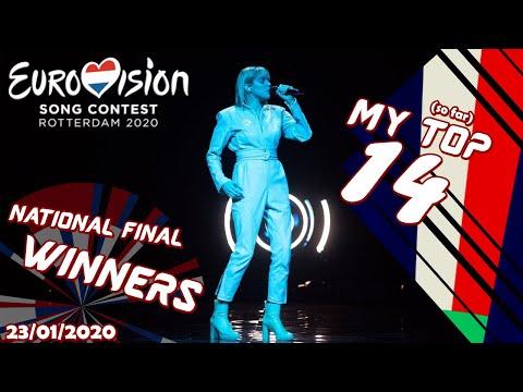 my-national-final-winners-(top14)-–-eurovision-2020-–-23/01/2020-(so-far)