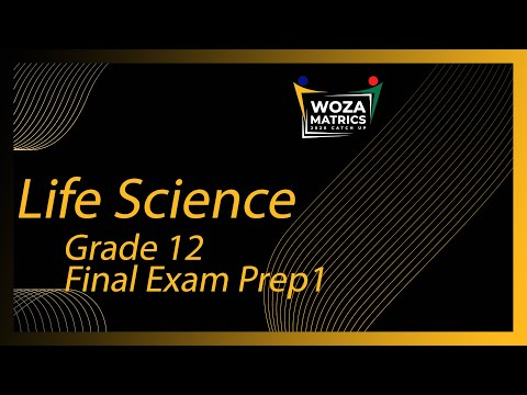 Life Sciences Final Exam Prep P1