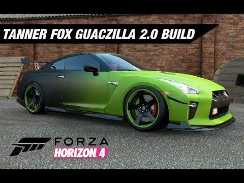 Tanner fox guaczilla 2 0 gtr build forza horizon 4 youtube - Tanner fox gtr pictures ...