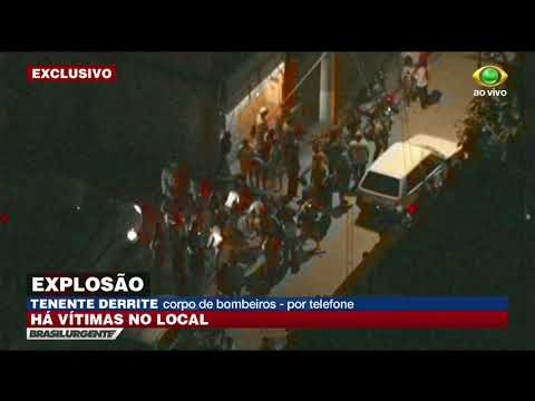 Explosão em galpão deixa pessoas feridas em São Paulo