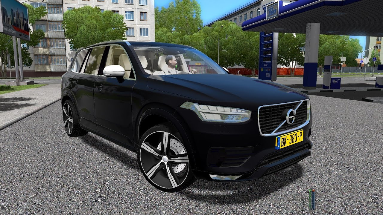 City Car Driving 1.5.4 | Volvo XC90 T6 R-Design 2016 | Custom Sound | 60FPS 1080p - YouTube