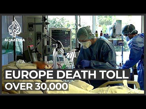 Coronavirus Deaths Reach More Than 30,000 In Europe