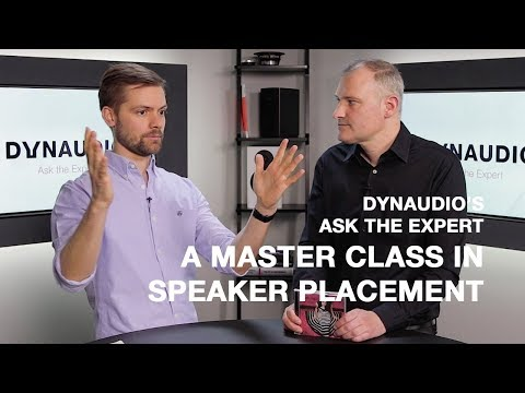 A Master Class in speaker placement