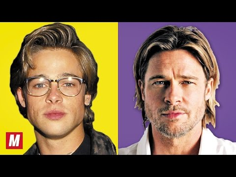 Brad Pitt  From 2 To 53 Years Old