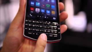 BlackBerry Porsche Design P'9983 hands-on