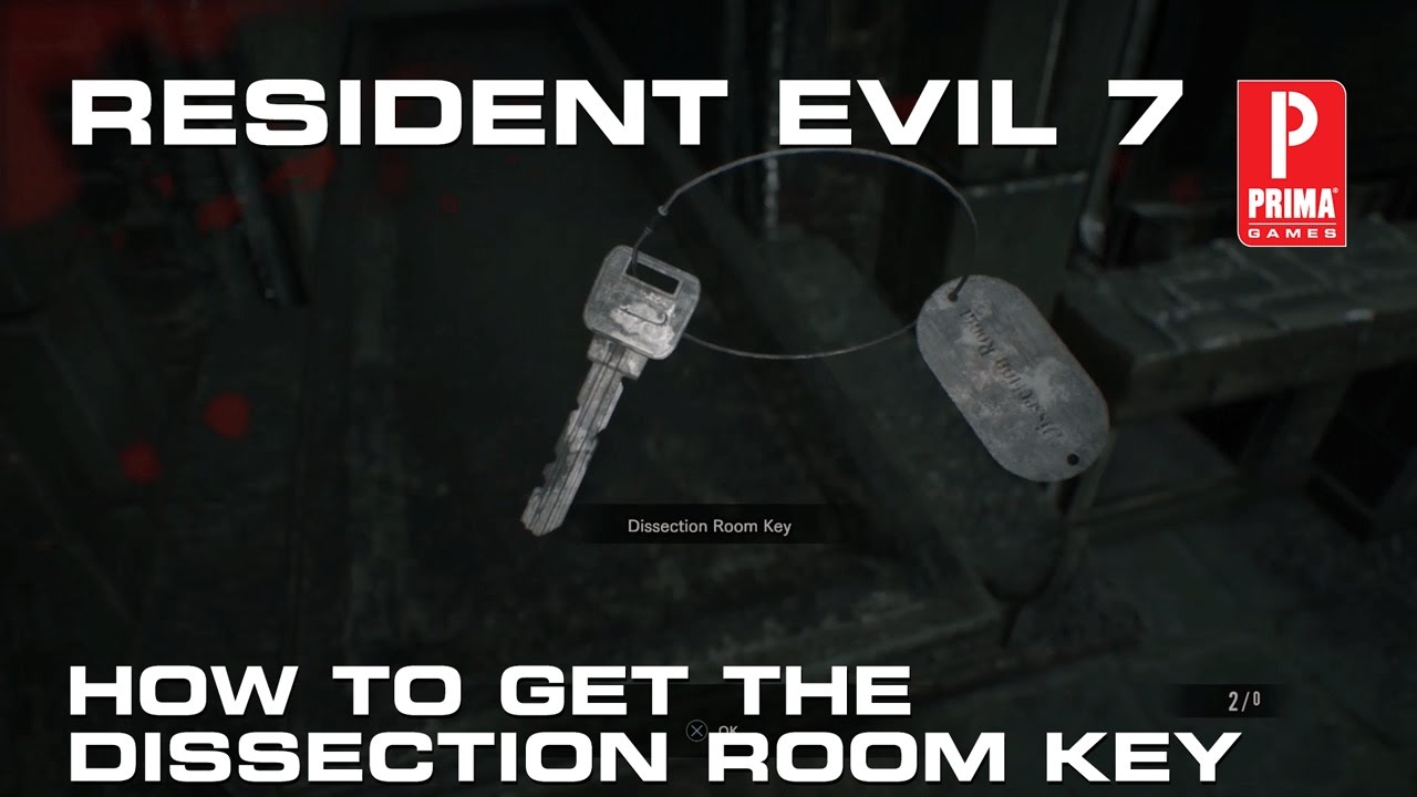 Resident Evil 7: How to Get the Dissection Room Key - YouTube