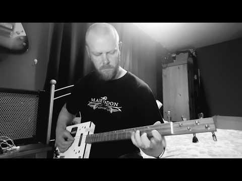 All Hands Against His Own - The Black Keys on Cigar Box Guitar