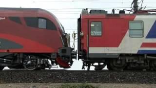 Railjet control wagon brakes test / steuerwagen bremsen test