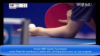 Rising SON of Korea OH JOonSung (OH sang eun)