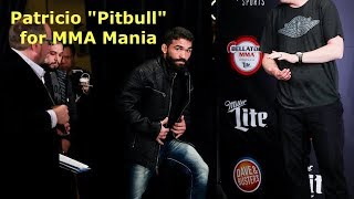 Patricio Pitbull Freire Interview Before Emmanuel Sanchez at Bellator 209