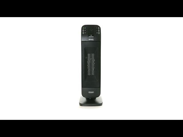 De Longhi 1500watt Digital Ceramic Tower Heater Youtube