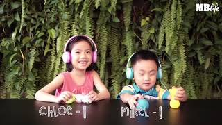 Guess the Cartoon Songs with JBL Jr 300 and Jr 300BT headphones