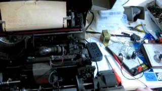 Siemens teleprinter/teletype 100A - Part 3 of 3 - Tape reader