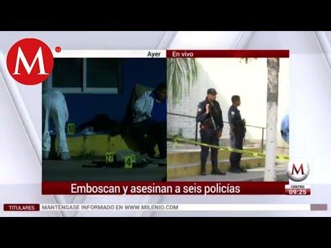 Lo Que Debes Saber - Seis policías muertos en La Huerta, Jalisco