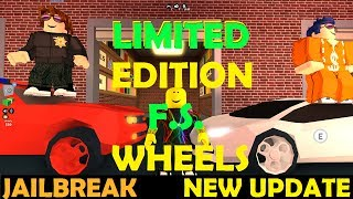 Roblox Jailbreak - LIMITED EDITION Fidget Spinner Wheels, Missions, Is It WORTH IT??!! - NEW UPDATE!