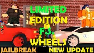 Roblox Jailbreak - LIMITED EDITION Fidget Spinner Wheels, Missions, Is It WORTH IT??!! - NOUVELLE MISE À JOUR!