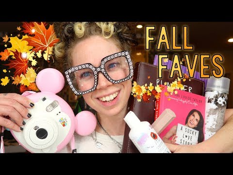 Fall Faves 2018