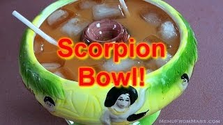 Quickie003 - Scorpion Bowl (over 21) - Menu From Mars